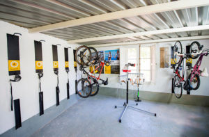 hotel para guardar bicicletas