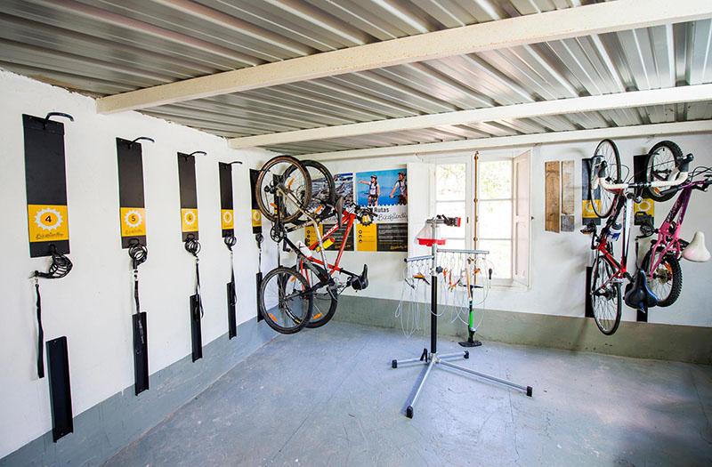 hoteles con alquiler de bicicletas
