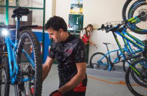 hotel con taller para bicicletas