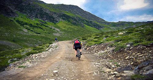 Hotel con ruta en bicicleta