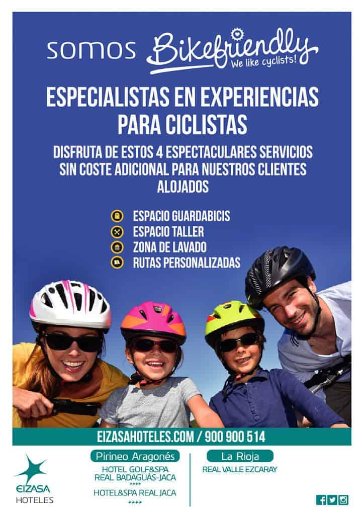 hotel para ciclistas badaguas